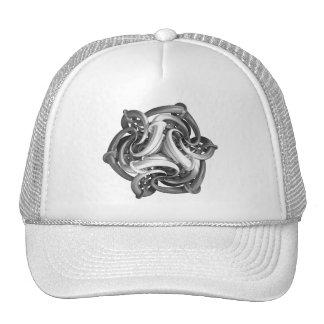 Gorras de encargo implacables del camionero de la