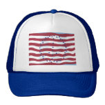 Gorras de la bandera del signo de la paz de las ba