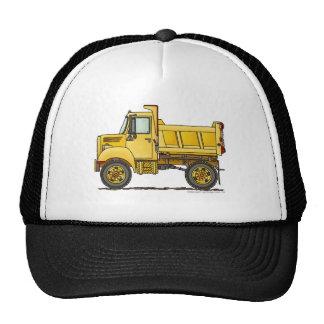 Gorras de la construcción del camión volquete de l