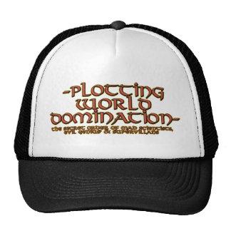 Gorras de la dominación del mundo del trazado