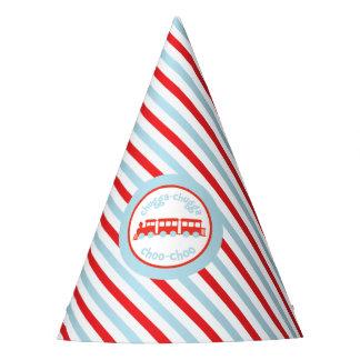 Gorras de la fiesta de cumpleaños del tren gorro de fiesta