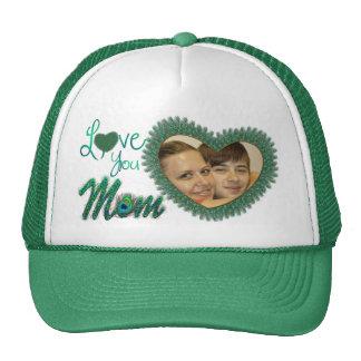 Gorras de la foto del día de madre