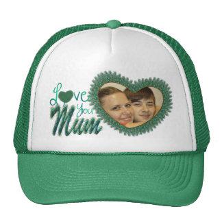 Gorras de la foto del día de madre para las momias