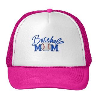 Gorras de la mamá del béisbol