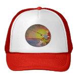Gorras de la puesta del sol de la pesca del padre