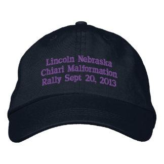 Gorras de la reunión de Lincoln Nebraska Gorra De Béisbol Bordada