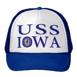 Gorras de la USS Iowa