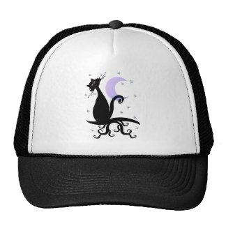 Gorras de medianoche del gatito