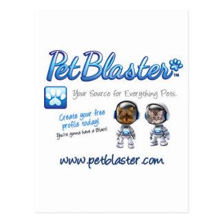 Gorras de PetBlaster, camisetas, tazas, ropa del m Tarjeta Postal