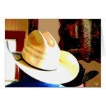 Gorras de vaquero en el comensal de Tejas 290, Joh Tarjetas