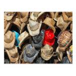 Gorras de vaquero postales