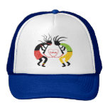 Gorras del amor de Kokopelli