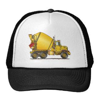 Gorras del camión del mezclador concreto