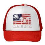 Gorras del camionero de Hawaii de la bandera de la