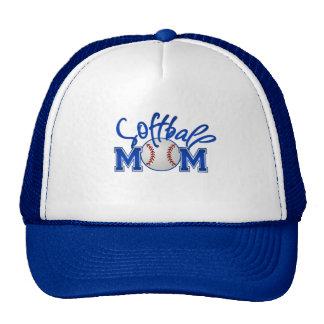 Gorras del camionero de la mamá del softball