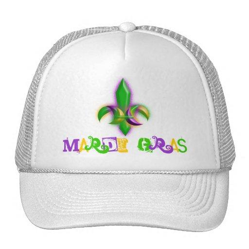 Gorras del camionero del carnaval de la flor de li