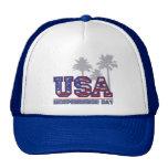 Gorras del camionero del Día de la Independencia d