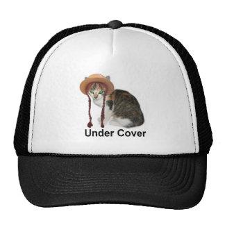 Gorras del camionero del gatito de la conquista