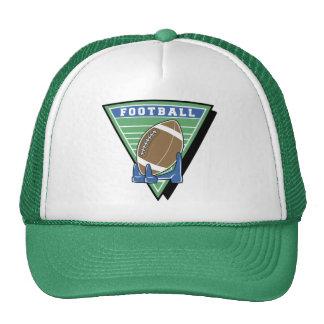 Gorras del campo de fútbol
