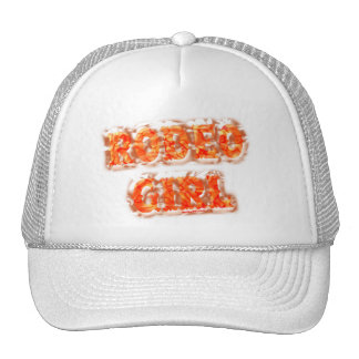 Gorras del chica del rodeo