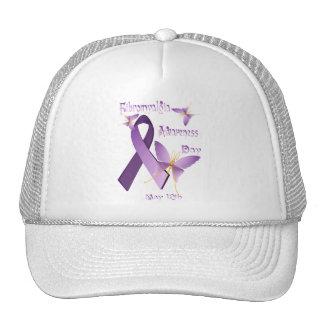 Gorras del día de la conciencia del Fibromyalgia