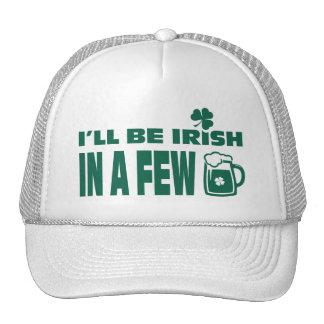 Gorras del día de St Patrick de la diversión del