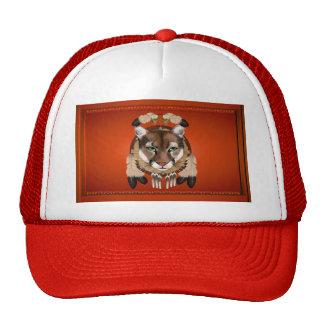 Gorras del escudo del puma