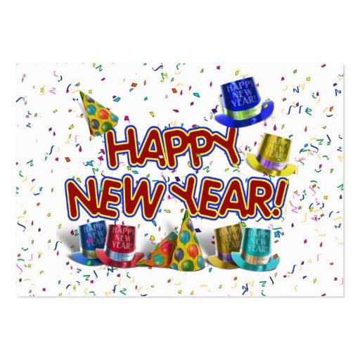 Gorras del fiesta de la Feliz Año Nuevo