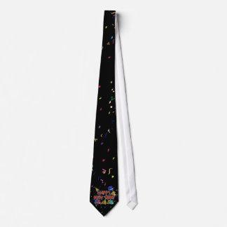 Gorras del fiesta de la Feliz Año Nuevo Corbata