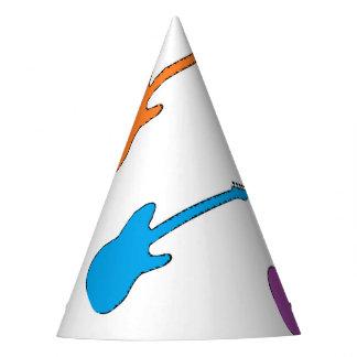Gorras del fiesta de la guitarra del arco iris gorro de fiesta