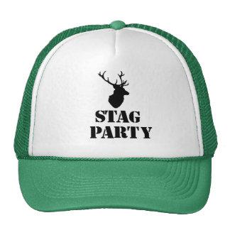 """""""Gorras del fiesta de macho"""". Diseño de la cabeza Gorras"""