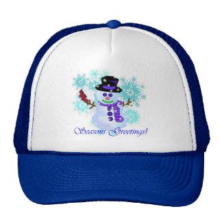 Gorras del muñeco de nieve