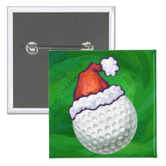 Gorras del navidad de la pelota de golf pin
