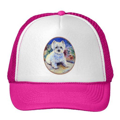 Gorras del oeste de Terrier de la montaña