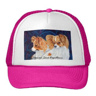 Gorras del perro de Papillon