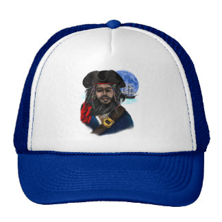 Gorras del pirata y de la nave