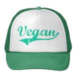 Gorras del vegano del equipo