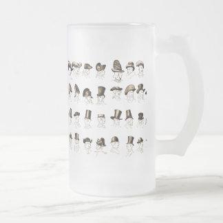 Gorras del vintage taza de cristal