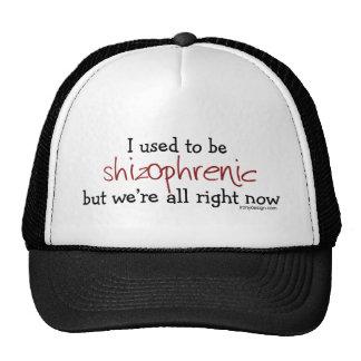 Gorras esquizofrénicos del humor