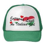 Gorras italianos del chica de los amores I