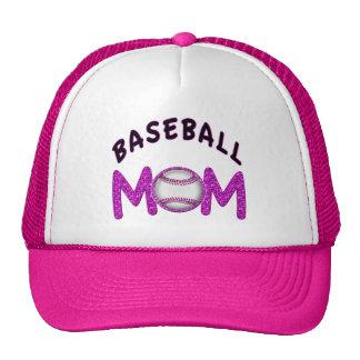 Gorras lindos de la mamá del béisbol en 12 colores