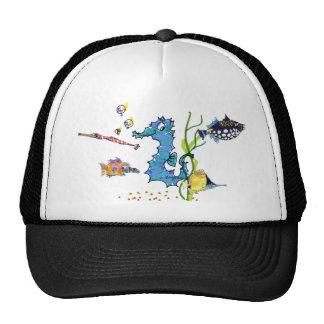 Gorras lindos de los pescados del Seahorse del dib