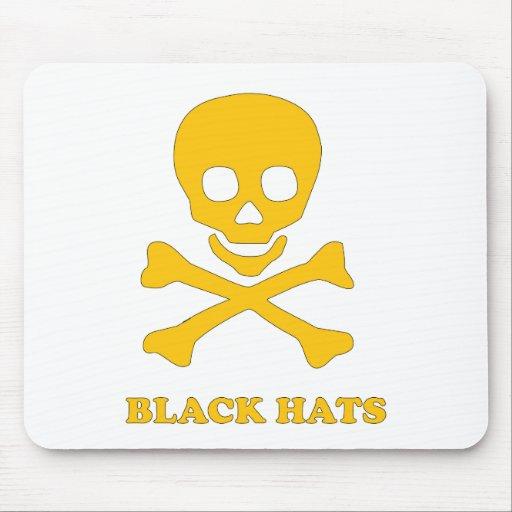 ** Gorras negros ** Tapete De Raton