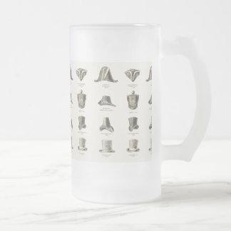Gorras para hombre del vintage taza de cristal