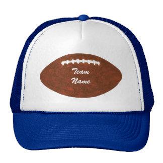 Gorras personalizados del fútbol del nombre del eq