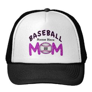 Gorras personalizados NÚMERO y NOMBRE de la mamá d