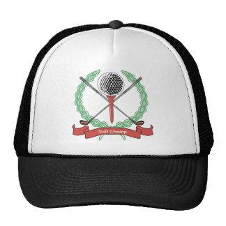 Gorras personalizados personalizado del golf