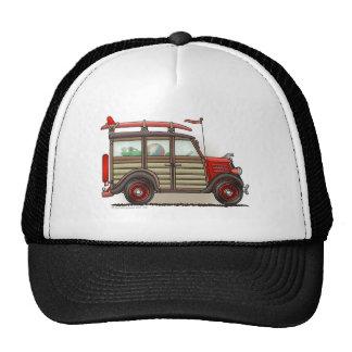 Gorras rojos del carro de Woody