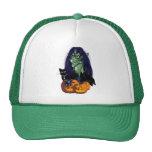Gorras verdes de la bruja