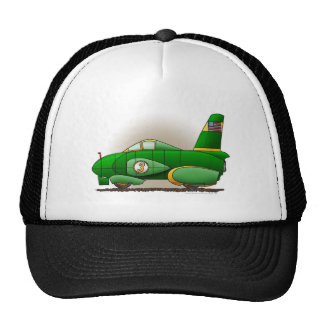 Gorras verdes del coche de la velocidad de la tier